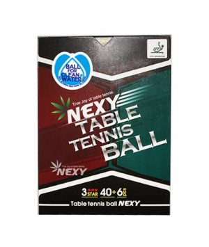 NEXY POLY BALL 3star 40+(6pcs)